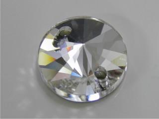 Pietre in cristallo da cucire AB Rivolo 14 mm