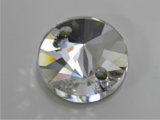 Pietre in cristallo da cucire AB Rivolo 10 mm